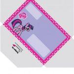 free printable My Little Pony Envelope  Envelope, free, Pony, printable #cartoon...