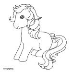 my little pony G1 coloring pages | Bubbles pony -derpy -adopt -adoptables -oc -c...