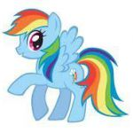 my little pony Rainbow Dash. Coloring doesn't really speak to her type, but the ...