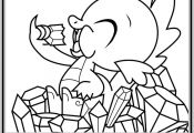 my little pony coloring pages | Spike Coloring Page