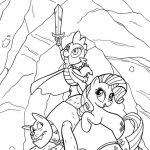 my little pony coloring pages | Viewing Gallery For My Little Pony Coloring Page...