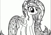 my little pony coloring pages crystal empire