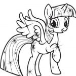 my little pony coloring pages princess twilight sparkle