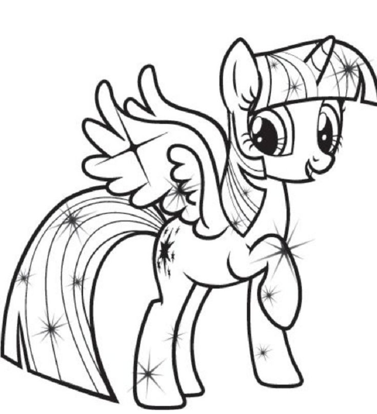 my-little-pony-coloring-pages-princess-twilight-sparkle my little pony coloring pages princess twilight sparkle Cartoon