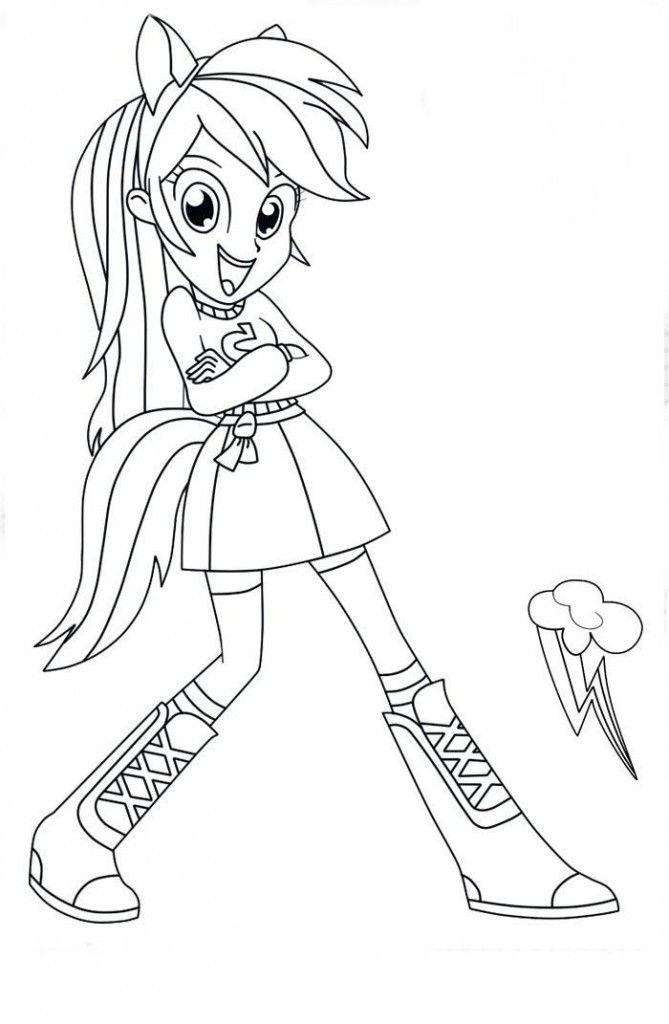 my little pony equestria girls para pintar e imprimir Wallpaper
