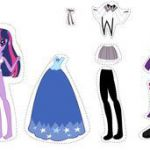 my little pony paper doll - Google Search