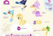 my little pony princess cadence paper cut out – Google Search  cadence, Cut, G...