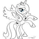 my little pony princess luna coloring pages | mlp princess luna colouring pages