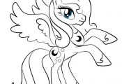 my little pony princess luna coloring pages | mlp princess luna colouring pages