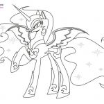 pluto disney coloring pages - my little pony nightmare moon coloring pages #colo...