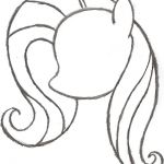 step by step how to draw a my little pony - Google Search