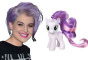 « Slideshow: 'My Little Pony' Hair    Kelly Osbourne and Berry Punch Flower Fil...