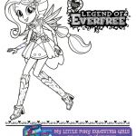 #1602712 - equestria girls, fluttershy, legend of everfree, official, printable,...
