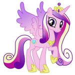 "$3.75 - Princess Cadence My Little Pony Iron On Transfer 5""X5"" For Light Colored..."