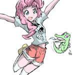 #331057 - artist:twilightlimits, gummy, humanized, nokko, pinkie pie, pony color...