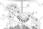 Carrousel my little pony coloring à imprimer et colorier  à, Carrousel, colori...