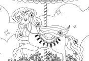 Carrousel my little pony coloring à imprimer et colorier  à, Carrousel, colori...
