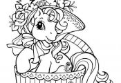 Coloriage gratuit My little pony  Coloriage, gratuit, Pony #cartoon #coloring #p...