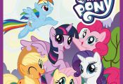 Crayola My Little Pony Childrens Giant 18 Page Colouring Book 32 x 49cm