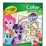 Crayola - My Little Pony Color and 50+ Sticker 32 pages Book -Freepost