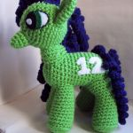 Crochet Seattle Seahawks My Little Pony by theicepalace on Etsy  Crochet, etsy, ...