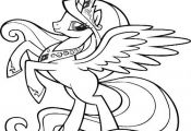 Cute My Little Pony Coloring Page Coloring, Cute, page, Pony #cartoon #coloring ...