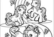 Desenho para colorir My Little Pony 332 - Crianças ClickGrátis