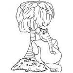 Dr Seuss Coloring Pages Horton the Elephant