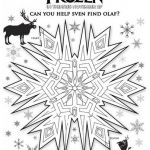 FREE COLOR SHEETS for kids...Frozen printable, FREE Printables for Disney Frozen...