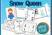 FREE Disney's Frozen Inspired Printable Pack (number order, letter match, pr...