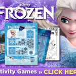 FREE Disney's Frozen Printables! Plus, get the brand new Blu-ray Combo pack ...