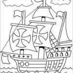 FREE Printable Mayflower Coloring Pages