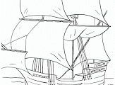FREE Printable Mayflower Coloring Pages - Surviving A Teachers Salary
