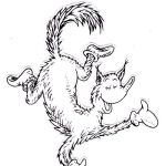 Fox in Socks from Dr Seuss Coloring Pages Fox Dancing printable
