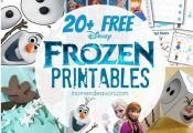 Free FROZEN Printables And Party Ideas