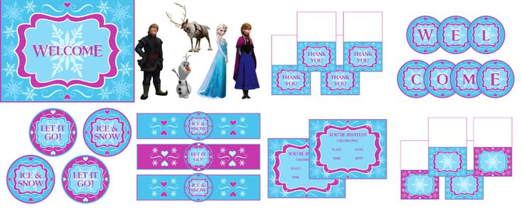 Free-Frozen-Printables-and-More Free Frozen Printables and More! Cartoon
