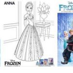 Free Frozen printable activities and coloring pages