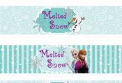 Free Printable Frozen Labels. - Is it for PARTIES? Is it FREE? Is it CUTE? Has Q...