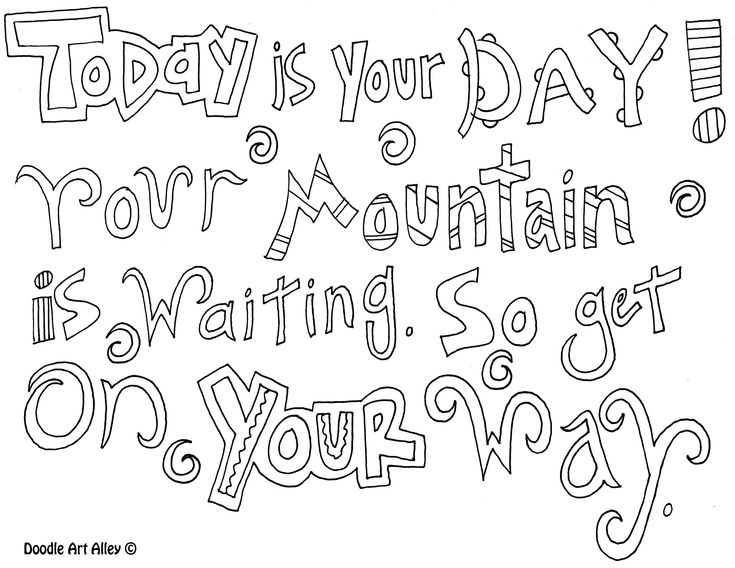 Free-Printable-Quote-Coloring-Pages-For-Adults-Dr-Seuss-Coloring-Pages-Quotes Free Printable Quote Coloring Pages For Adults: Dr Seuss Coloring Pages Quotes  ... Cartoon
