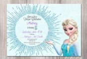 Frozen Birthday Invitation Frozen Printable by StyleswithCharm