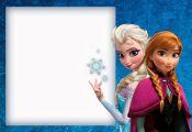 Frozen: Cute Free Printable Invitations.