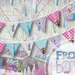 Frozen PRINTABLE party banner Happy Birthday by splendidINK