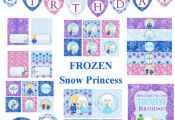 Frozen Party Frozen Party Package Frozen Birthday by PartyPops, $28.00. Also che...