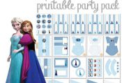 Frozen Printable Party Pack