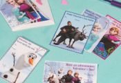 Frozen Printable Valentines from @Spoonful