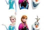 Frozen Printables for Cake Pops: