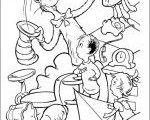 Fun Dr Seuss coloring pages