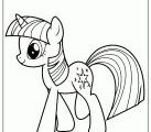 Hasbro My Little Pony Twilight Sparkle Coloring Page