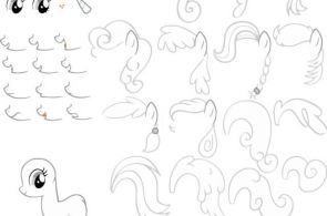 How to draw a my little pony  draw, Pony #cartoon #coloring #pages