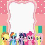 Invitación My Little Pony
